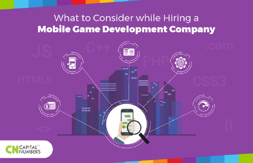 What to Consider While Hiring a Mobile Game Development Company