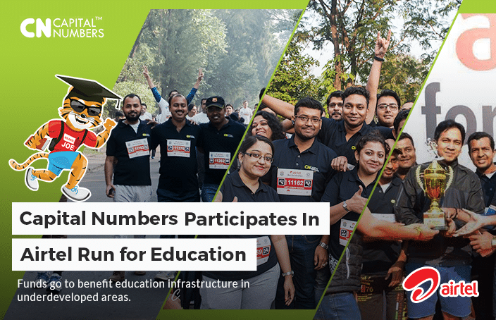 """Capital Numbers Participates in """"Run for Education"""""""