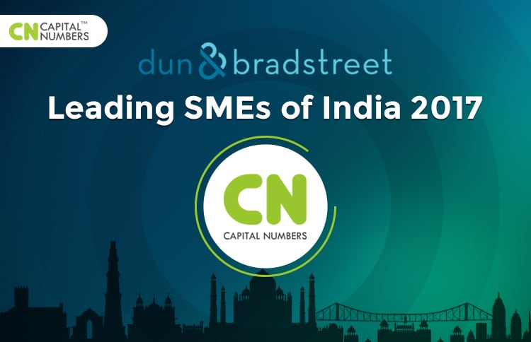 "Capital Numbers Included in Dun & Bradstreet's ""Leading SMEs of India 2017"""