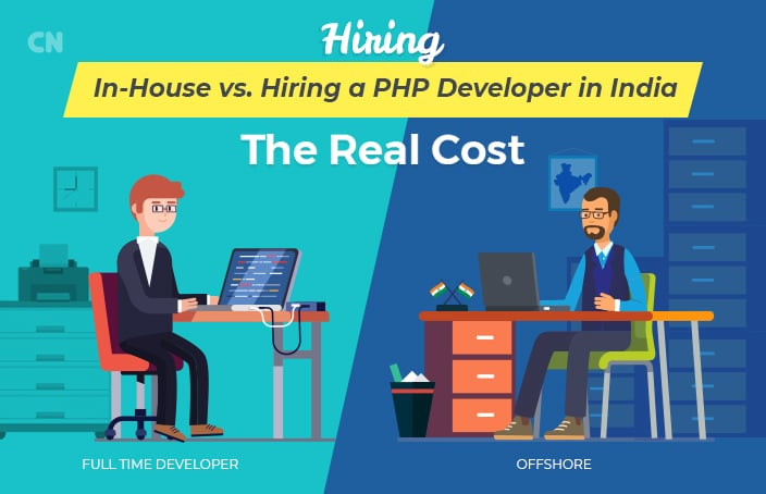Hiring In-House PHP developers vs. Hiring PHP Developer in India