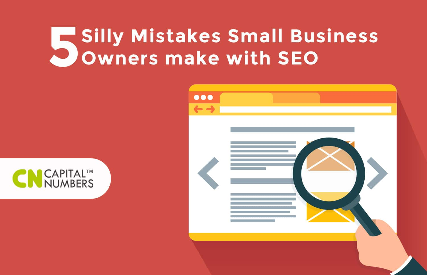 5 Silly Mistakes Small Business Owners make with SEO