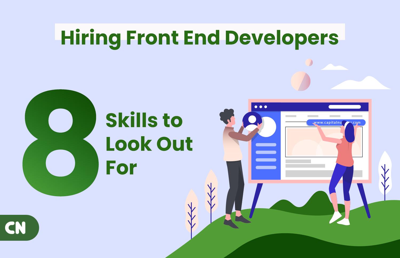 Hiring Front End Developer
