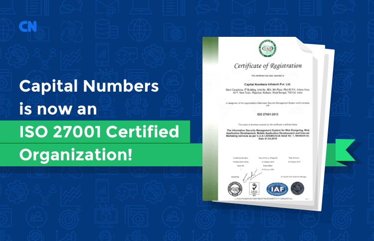 ISO 27001 Certified Organization