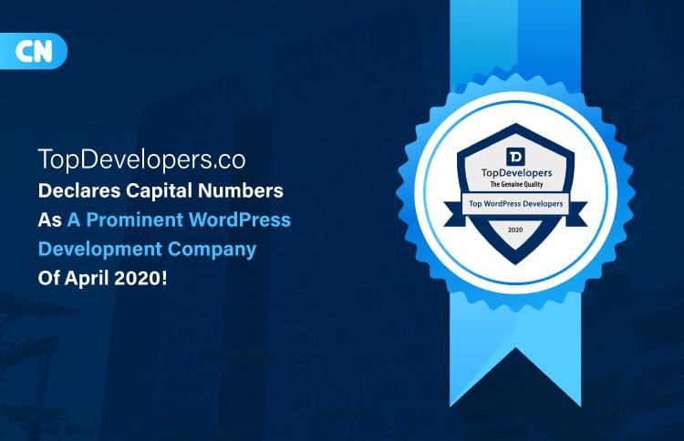 Capital Numbers is a leading WordPress Development Company