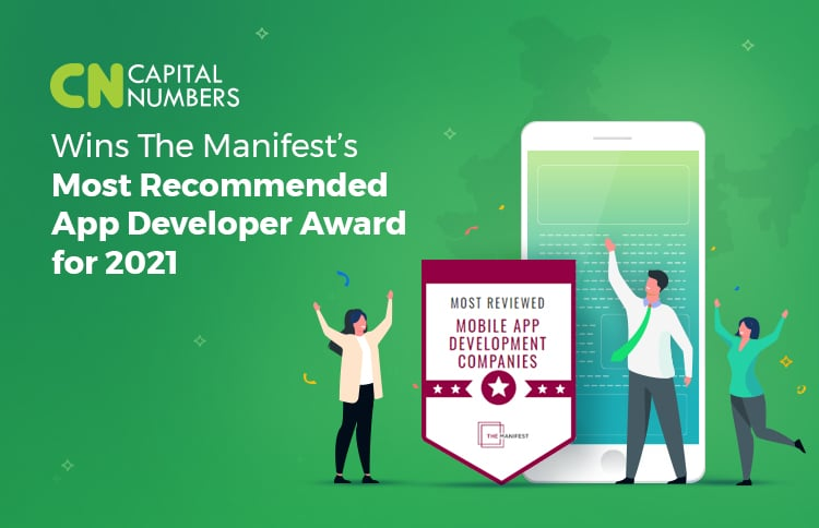 Capital Numbers Wins The Manifest's Most Recommended App Developer Award for 2021