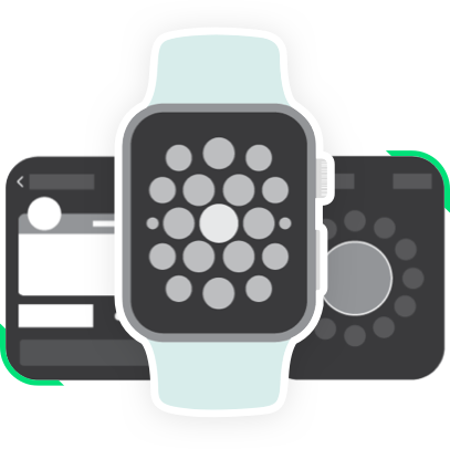 VECTOR images of apple watch
